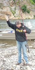catching a humpy on the Pilgrim River