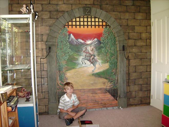Zachary's mural
