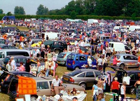 Car Boot Sales Near Exmouth