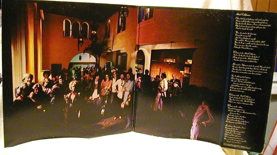 Fasteddie 39 s wax museum eagles hotel california for Hotel california