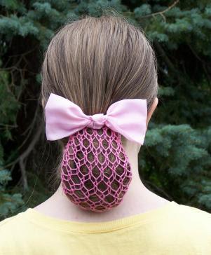 Crochet pattern Women's Hair Snood by CottageCreationsForU