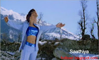 Photos from the video song Saathiya - Vivek and Rani - 04