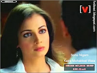Images from the video song Kajra Mohabbat Wala - Dia Mirza - 05