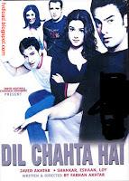 Photos from the video song Koi Kahe Kehta Rahe from Dil Chahta Hai - 01