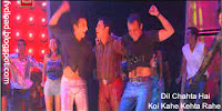 Photos from the video song Koi Kahe Kehta Rahe from Dil Chahta Hai - 03