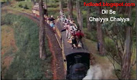 Images from the video song Chaiyya Chaiyya from Dil Se - 08