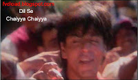 Images from the video song Chaiyya Chaiyya from Dil Se - 09