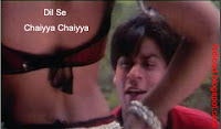 Images from the video song Chaiyya Chaiyya from Dil Se - 06