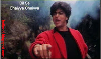 Images from the video song Chaiyya Chaiyya from Dil Se - 07