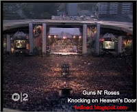 Stills from the video song Knocking on Heaven's Door by Guns N' Roses - 06