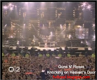 Stills from the video song Knocking on Heaven's Door by Guns N' Roses - 05