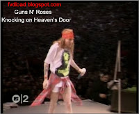 Stills from the video song Knocking on Heaven's Door by Guns N' Roses - 07