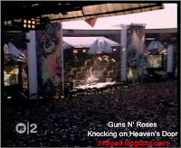 Stills from the video song Knocking on Heaven's Door by Guns N' Roses - 01