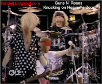Stills from the video song Knocking on Heaven's Door by Guns N' Roses - 02