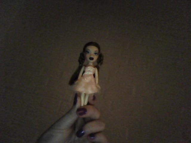 Stor pik i hendes hånd