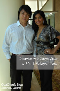 interview with jaclyn victor, singer of gemilang, malaysian idol winner