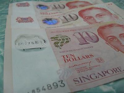 singapore dollar note
