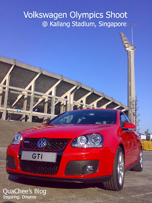 volkswagen olympic shoot at kallang
