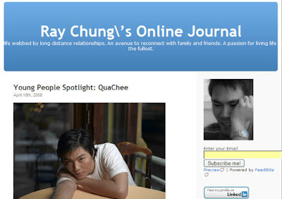 young people spotlight, ray chung