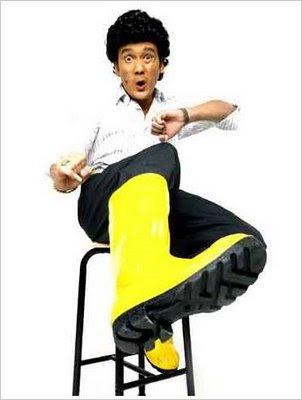 phua chu kang, yellow boots