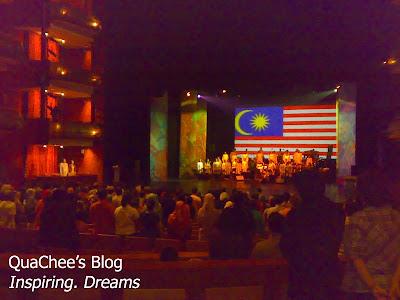 negaraku esplanade malaysia flag