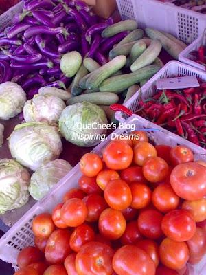 pasar malam - vegetables