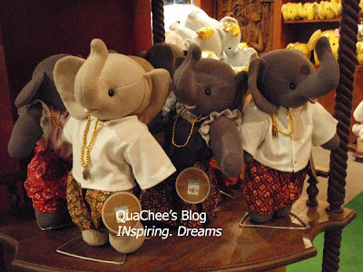 thailand, thai souvenir, elephant soft toy