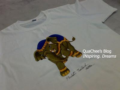 thailand, thai souvenir, thai t-shirt