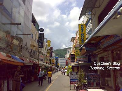 patong beach, phuket - lane