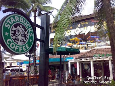 patong beach, phuket - starbucks