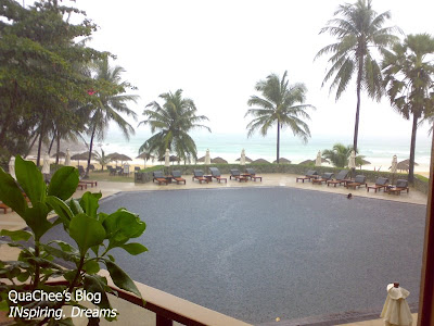 surin beach, resort, phuket - view from restaurant