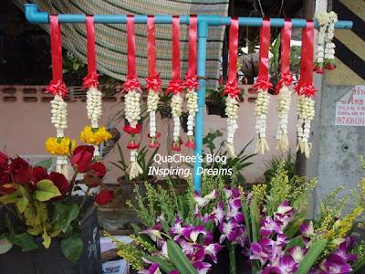 thai night market, phuket, thailand - flower