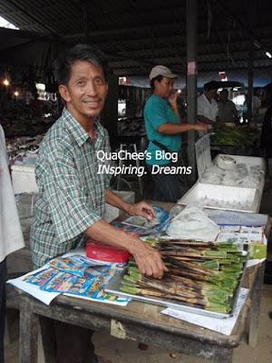 thai night market, thailand, otah