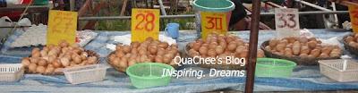 thai night market, phuket, thailand - eggs