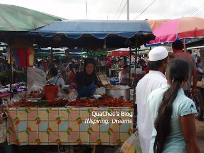 thai night market, thailand, fried chicken