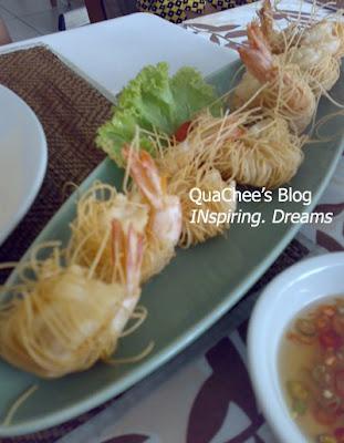 thai food, thailand - crispy fried prawn