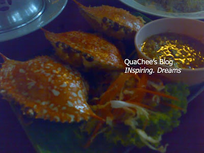 thai food, thailand - stuffed crab
