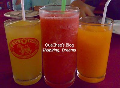 thai food, thailand - fruit drink