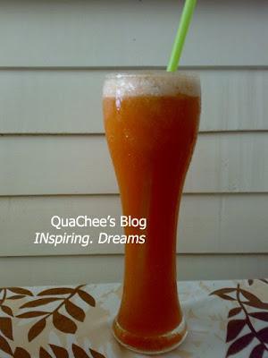 thai food, thailand - mix fruit juice