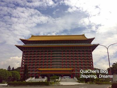 taipei grand hotel, taiwan - building