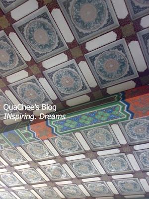 taipei grand hotel, taiwan - ceiling