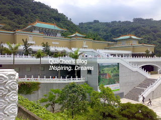 national palace museum, taipei, taiwan, main building