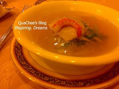 taiwan food, seafood, bee-hoon seafood soup