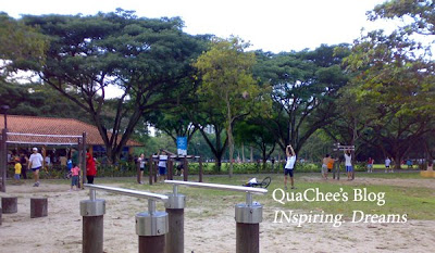 east coast park, singapore, exercise