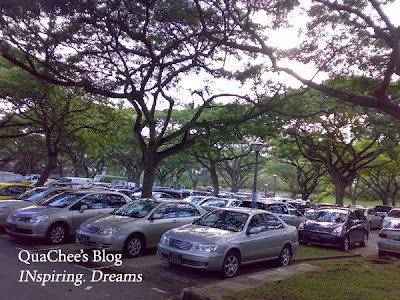 east coast park, singapore, beach, car park