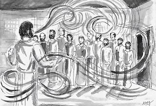 sea kettle diaries: Pentecost