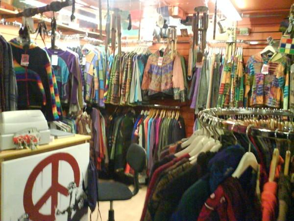 Clothes trading stores