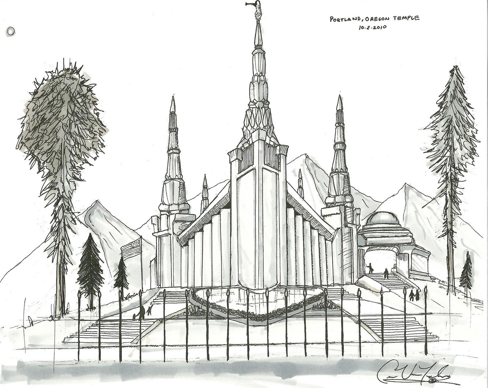 spokane lds temple coloring pages coloring pages