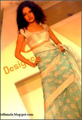 Emi Bangladeshi sexy Ramp model