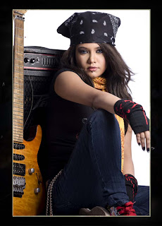 Popular hot model pop singer mila